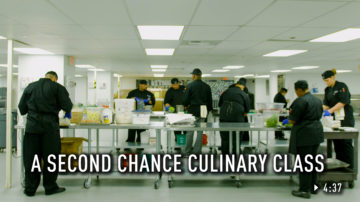 A Second Chance Culinary Class