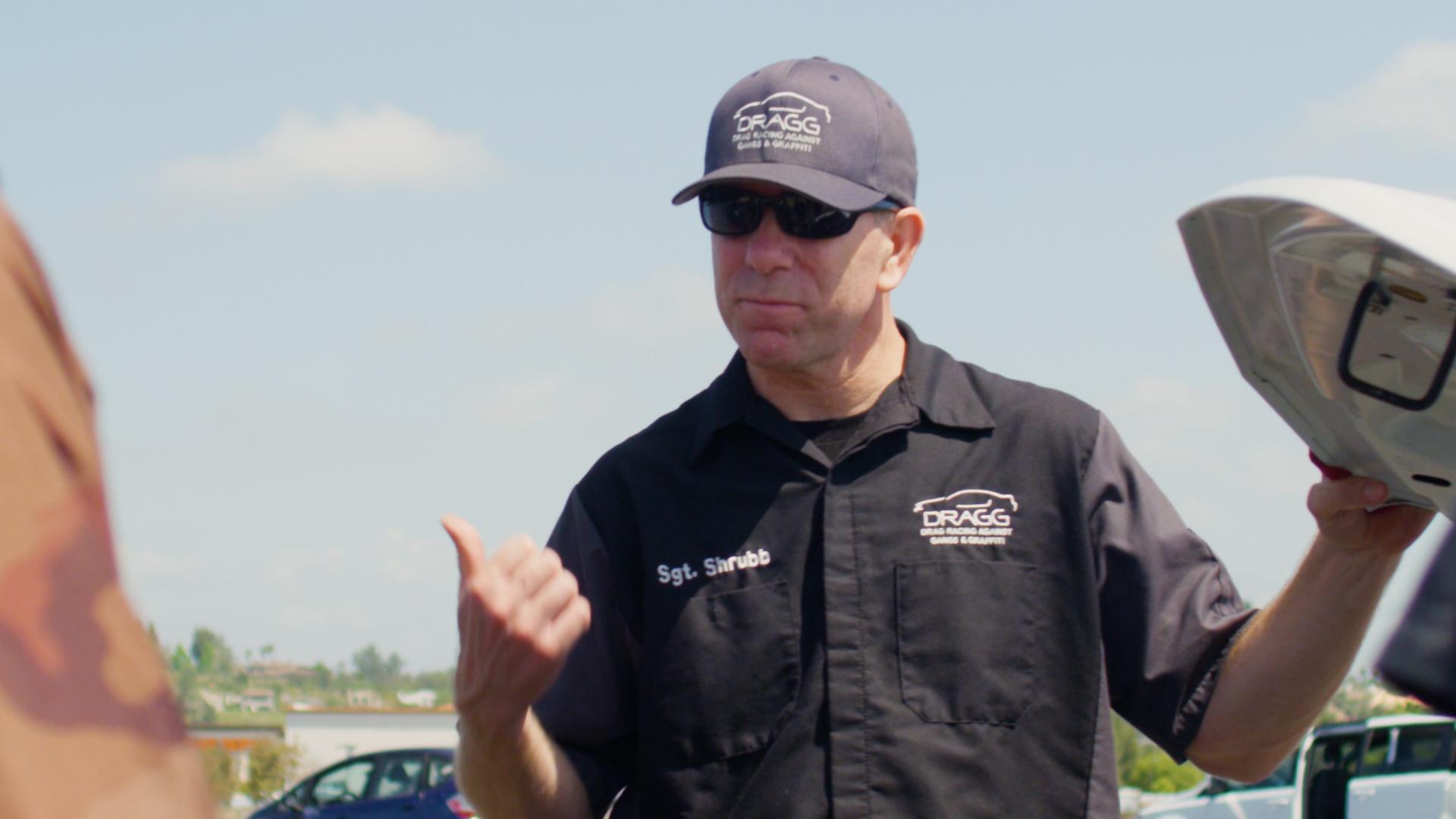 DRAGG co-executive director Daniel Shrubb