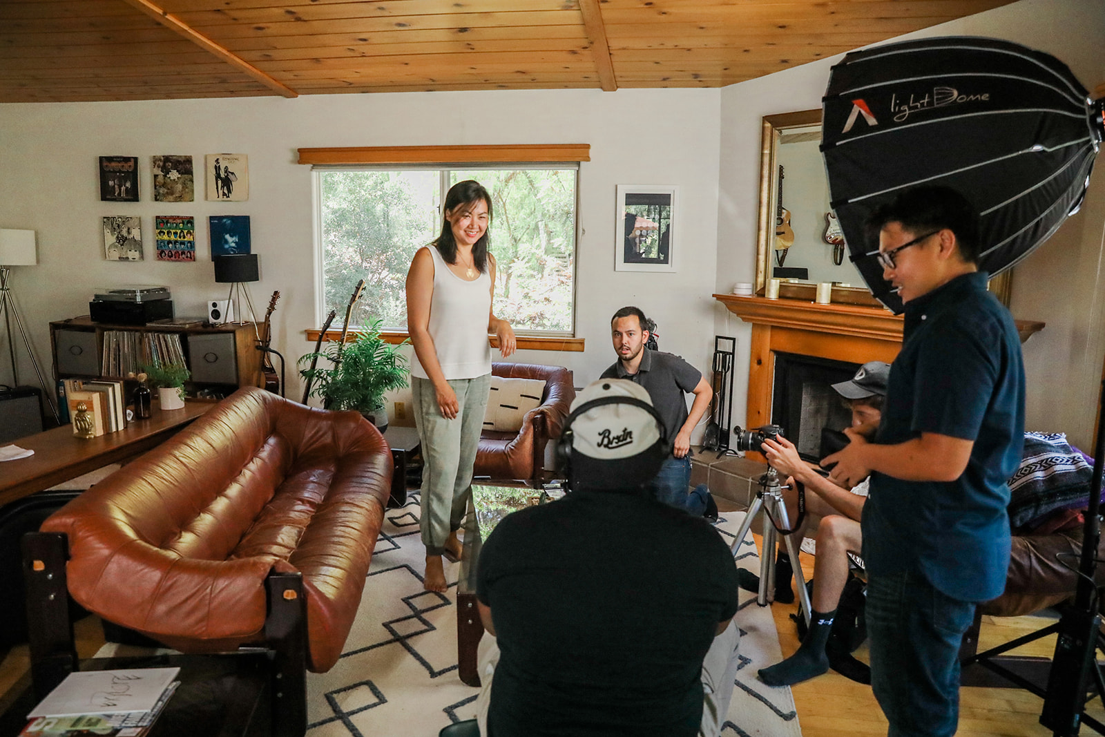 Gladeo film shoot.
