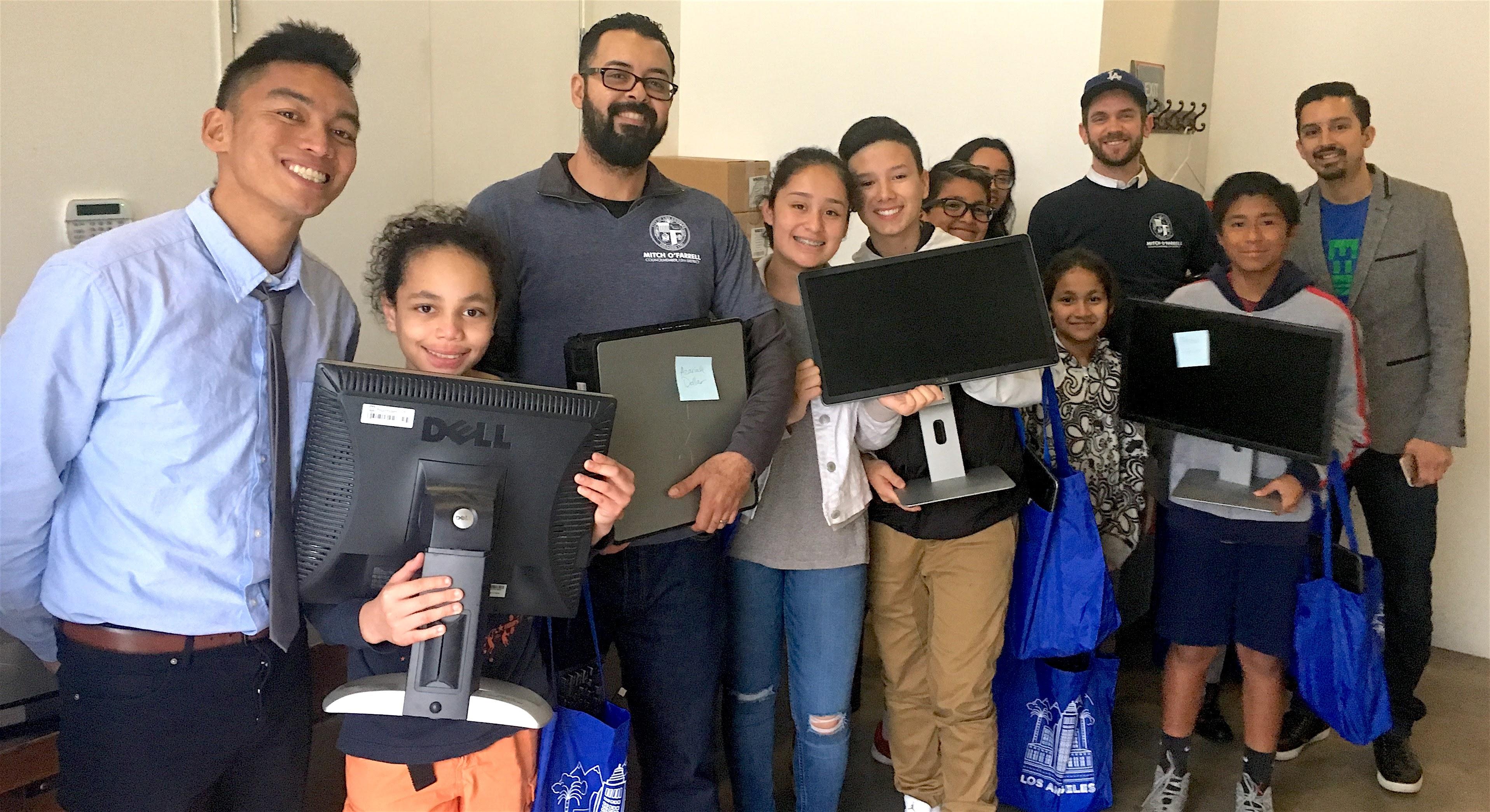 Human-I-T computer recipients.