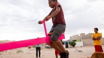 Seesaws Installed at US-Mexico Border